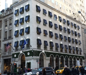 Our fave- Harry Winston. Evita would have loved to saunter up to these windows.